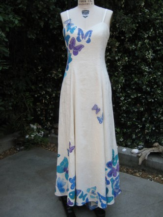 Butterfly Hemp Dress